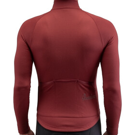 Isadore Long Sleeve Jersey Men ruby wine